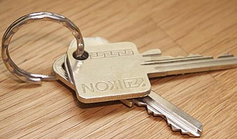 a pair of keys